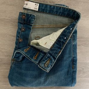 Slim 32/32 Topman Denim Jeans